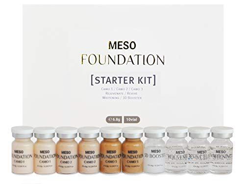 BB Glow Skin Treatment – MTS Meso Ampoule Serum Starter Kit – For Professional Only – Made in Korea
