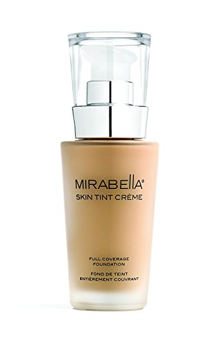 Mirabella Skin Tint Crème Full Coverage Liquid Mineral Foundation – III W, 30ml/1.0 fl.oz