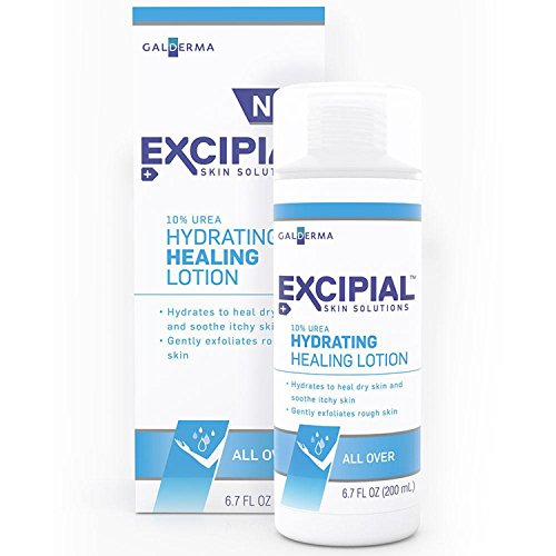 Excipial Urea Hydrating Healing Lotion, 6.7 Ounce (Pack of 2)